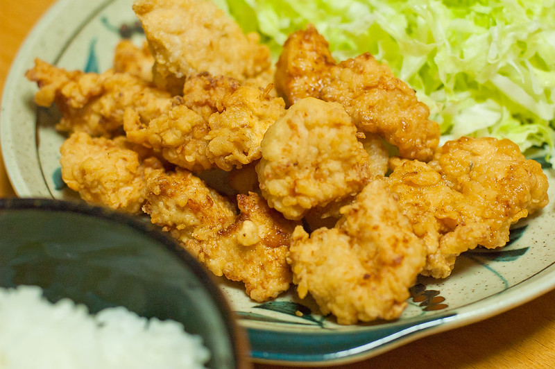 鶏胸肉の唐揚げ