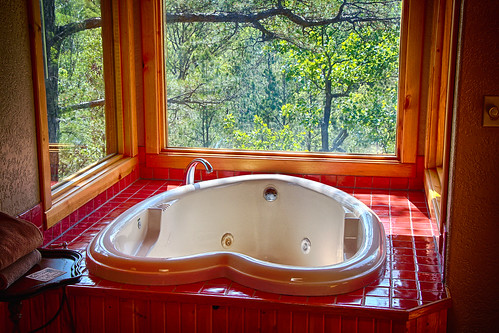 wood trip windows vacation house mountains tree beautiful high honeymoon view anniversary cottage lookout treehouse hills springs arkansas breathtaking lofty secluded euraka