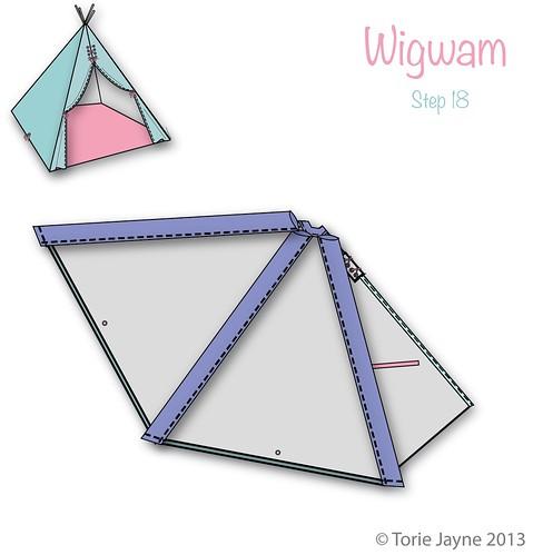 Wigwam Step 18