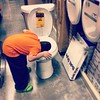This doesn't bode well for the future. 4 years old and head already in the #toilet.