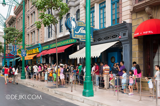 USS May Park Update - Sesame Street queue