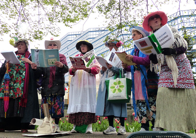 March Against Monsanto - May 2013 - Raging Grannies