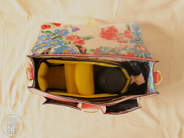 Fabric Paper Glue: My Awesome Camera Bag
