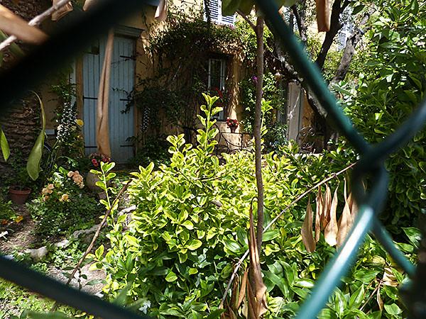 petit jardin caché