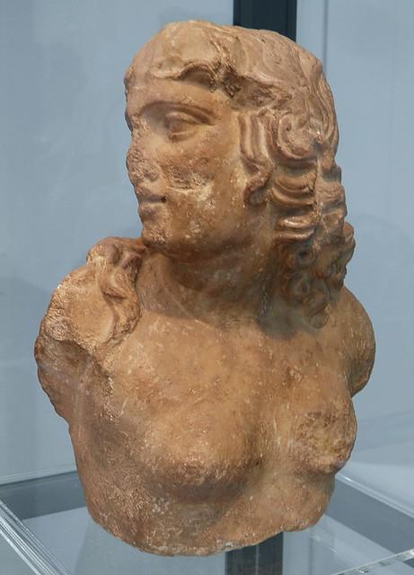 Marble bust of Scylla a monstrous sea goddess, 1st century AD, Staatliche Antikensammlungen, Munich
