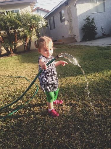 evening hose sessions