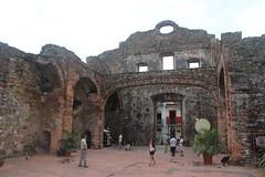 El 'Arco Chato' - Convento de Santo Domingo, Panamá