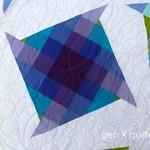 purple pinwheel Lagoon quilt