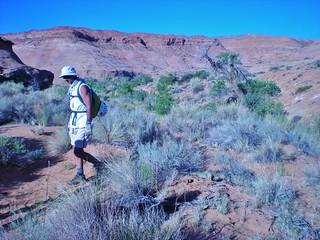 Byron Hiking to West Fork Leprechaun
