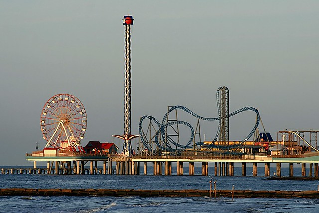 Pleasure Pier, Galveston, TX