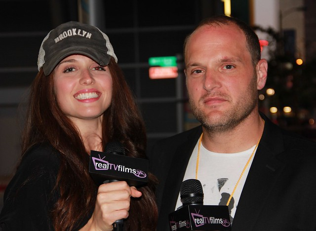 Traci Stumpf Host, Larry Mitchell, Pollywogs Movie, LA Film Festival