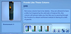 Fronds Like These Column