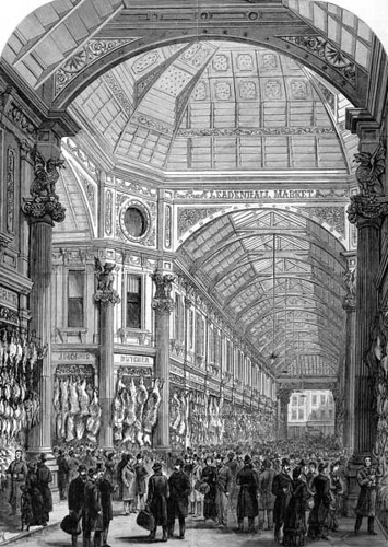 Leadenhall_Market_Illustrated_London_News_1881