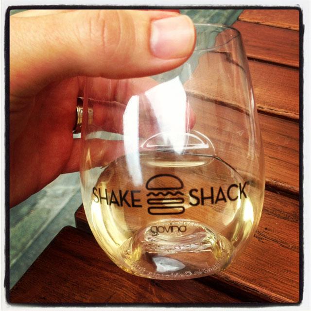Shake Shack Covent Garden Wine