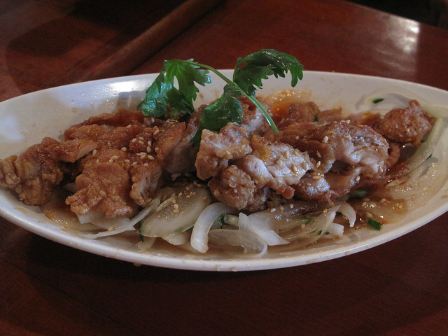 STRIKE Thai style chicken - 椒麻雞
