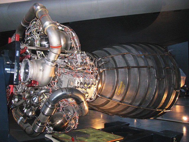 UHC1378 - Spacecraft - American - Space Shuttle RS-25 Main Engine - Liquid-Fuel, Cryogenic Rocket Engine - 1981