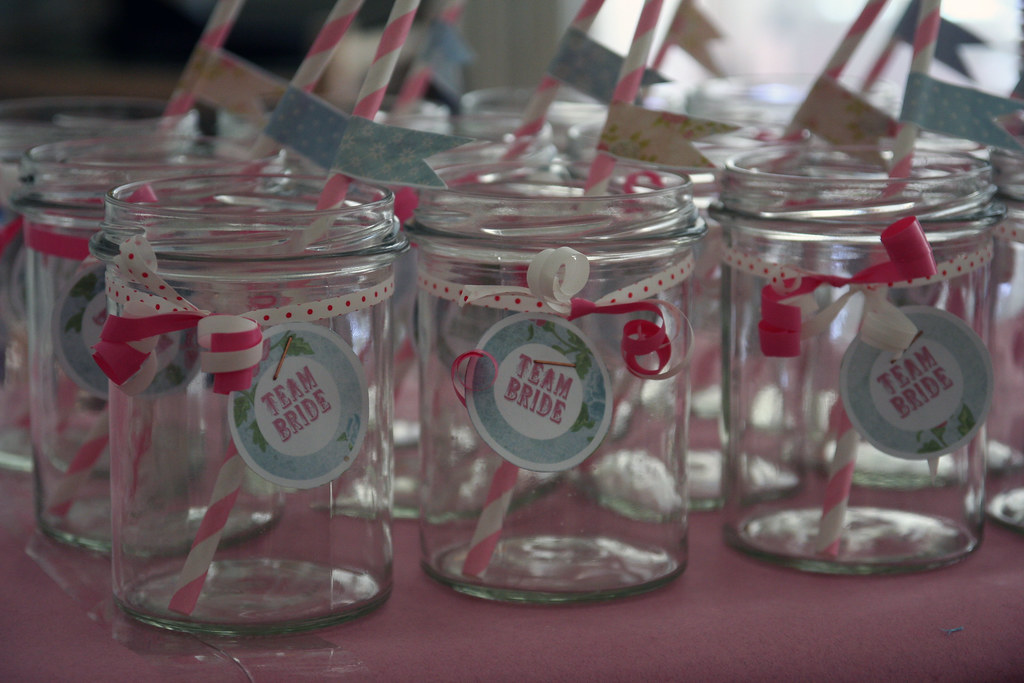 team bride paper straws {from miss to mrs.}