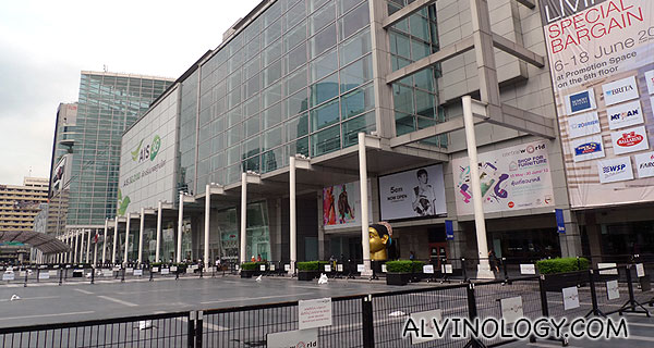 Central World is less than 10 minutes walk from the hotel