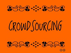 Crowdsourcing = Content developed by a group of people or community