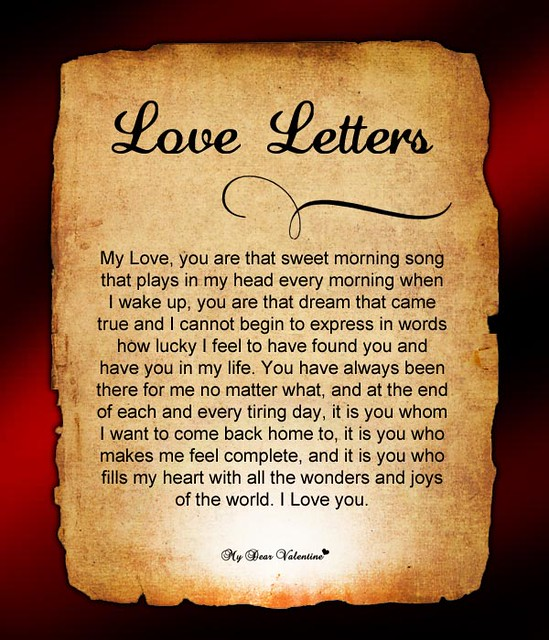 Romantic Love Letters For Him | Flickr - Photo Sharing!