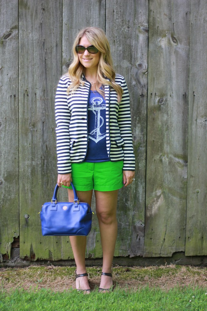 Skip N' Whistle Anchor Tee Outfit