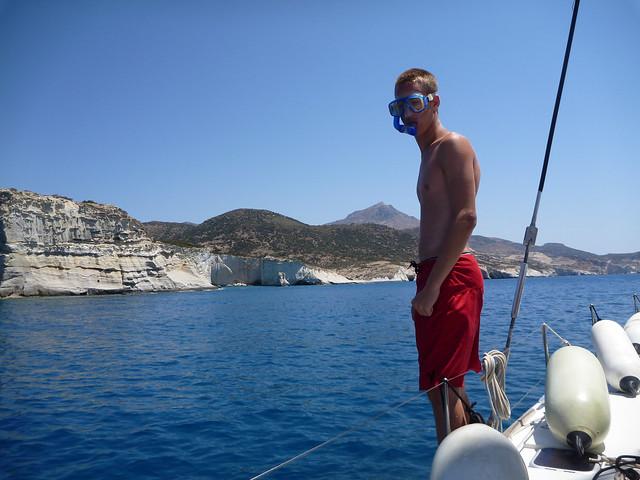 Snorkeling on Milos
