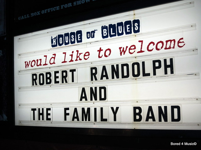 Robert Randolph And The Family Band & The Record Company @ House of Blues - Sunset (07/19/13)