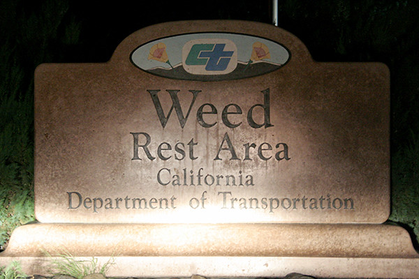 weed rest area