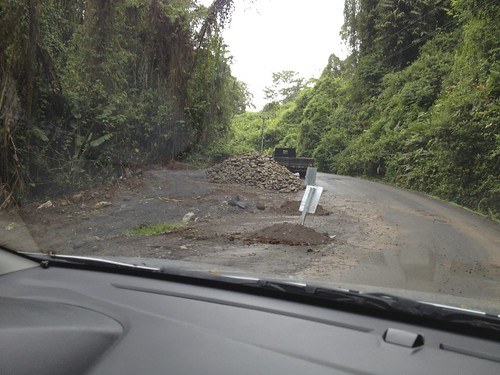 When we saw this, we thought … what an awful road… we were soo wrong.