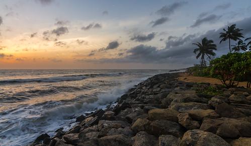 sunset srilanka ranweli