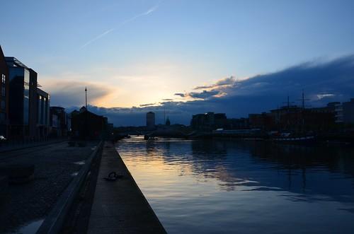 Dubliner Nachteindruck