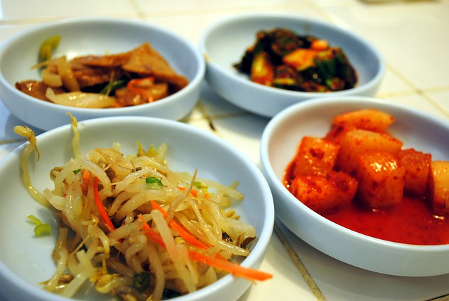 Banchan side dishes