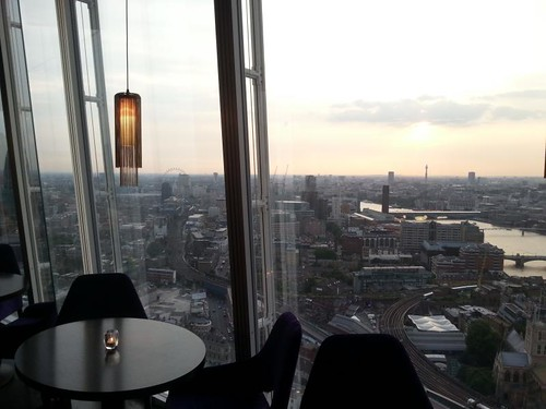 View from Aqua Shard