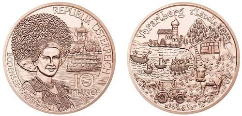 Austria  Voralberg 10 Euro