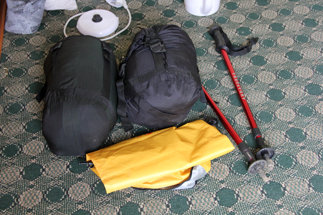 Renting gear and supplies in Pokhara