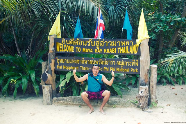 At Maya Bay Krabi