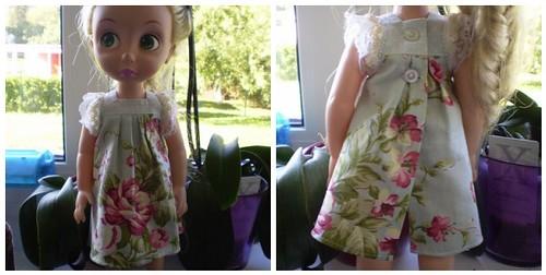 Rapuntsli kleit roosidega