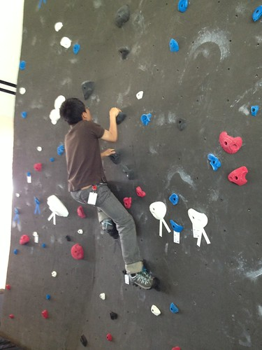 Casual climb with normal shoes 1/4