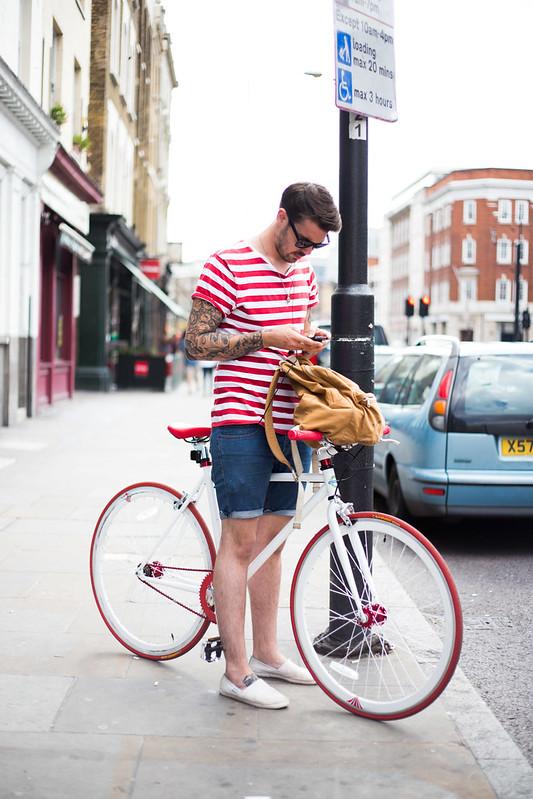 Street Style - Robbie, Shoreditch