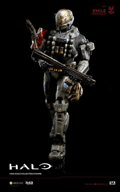 3A x Halo Emile Spartan