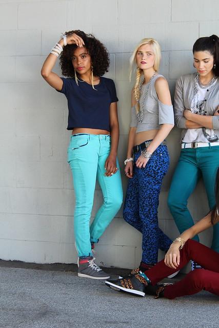 Adidas Neo Alexa Reynen Kalysse Anthony Alisa Torres fall campaign shoot Los Angeles lisforlois