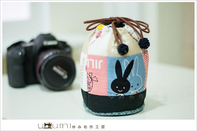 黑白兔鏡頭袋2