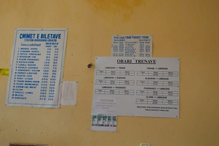 04.10.13 Librazhd Station - Timetable & fares charts