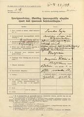 III/7. Lantos Lajos mentesítése az 1939. évi IV. tc. hatálya alól