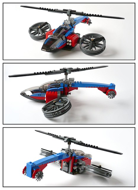 Super Heroes Marvel Universe 76016 Spider-Helicopter Rescue 205
