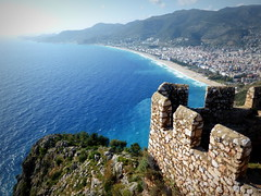 view from Alanya Castle