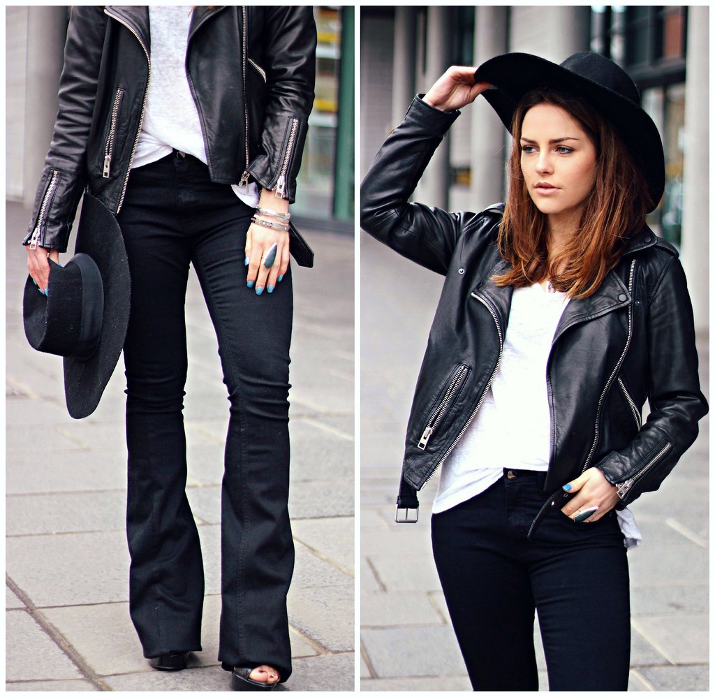 Victoria Beckham black flares The Little Magpie 8
