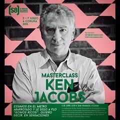 """Tomen nota de esta fecha, 6 de junio de 2015. Masterclass de Ken Jacobs en el @s8cinema La Masterclass forma parte del programa especial que en el (S8) realizaremos al maestro que incluye además dos film perfomances para las que traerá a Coruña su""""Nervou"""