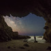 Malibu Sea Cave by Jack Fusco