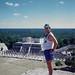 Barry atop the Pyramid of Kukulcan por BarryFackler